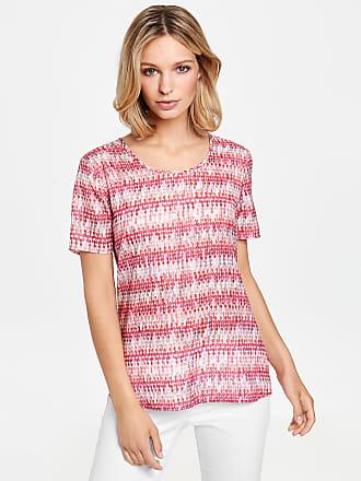 1/2 Arm Shirt mit grafischem Print Lila-Pink Damen Gerry Weber