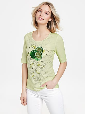 1/2 Arm Shirt mit Paillettenstickerei Grün Damen Gerry Weber