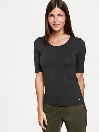1/2 Arm Basic Shirt Schwarz Damen Gerry Weber