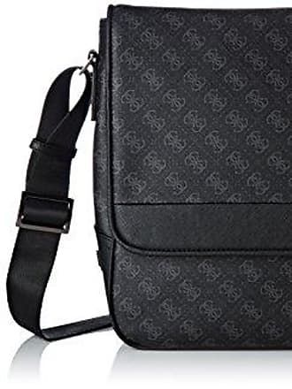 Cm X H L Bags W Guess Besaces Homme 10x31x40 Messenger Black Noir 0wzvHxn