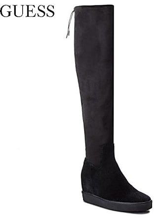 Guess Felicia2, Bottes Hautes Femme, Noir (Black noir), 39 EU