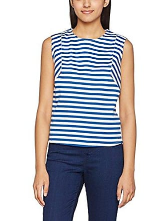 Hilfiger Denim Damen Top THDW Stripe CN Knit S/L 40 Tommy Jeans