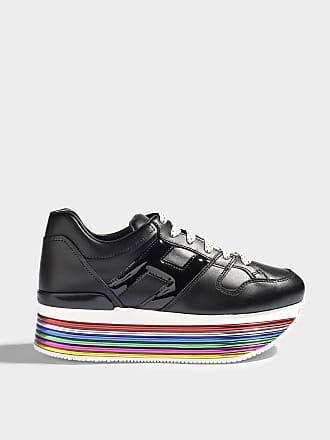 Chaussures De Sport Pour Les Femmes En Vente, Noir, Cuir Paillettes, 2017, 36 39 40 Hogan