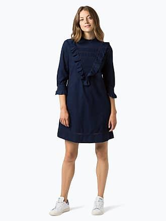 Damen Kleid - Evangela blau HUGO BOSS