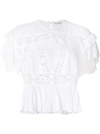 crocket lace insert blouse - Unavailable Iro