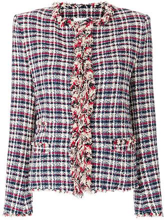 Karierte Tweed-Jacke - Mehrfarbig Isabel Marant