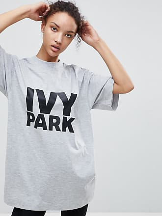 Achats En Ligne Jeu réductions T-shirt à logo oversize - Gris - GrisIvy Park 8fLJS