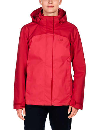3-in-1-Funktionsjacke »ECHO BAY WOMEN«, rot, hellrot Jack Wolfskin