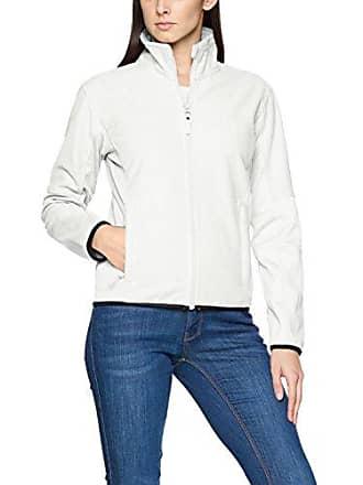 Sarasota Full Zip Fleece Jacket, Blouson Femme, Ecru (Egg Shell 105), 42James Harvest