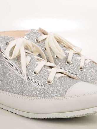 Malu Sneaker Veloursleder schwarz silber (silver) John Baker & Son NGYVZ