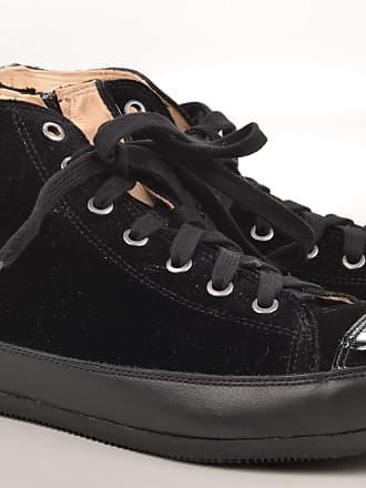 Malu Sneaker Veloursleder schwarz silber (silver) John Baker & Son U6cis