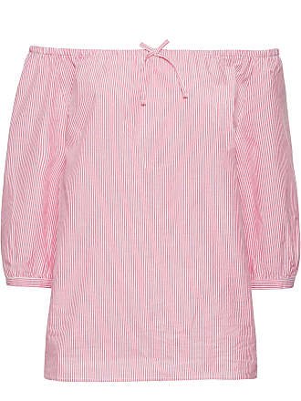 Carmenbluse mit 3/4-Ärmeln in rosa von bonprix John Baner Jeanswear