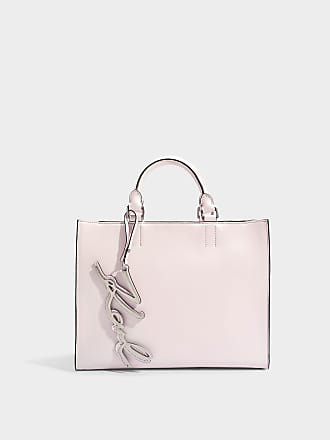 K/Signature Shoulder Bag in Light Rose Smooth Calf Leather Karl Lagerfeld Cheap iXPjCqzp