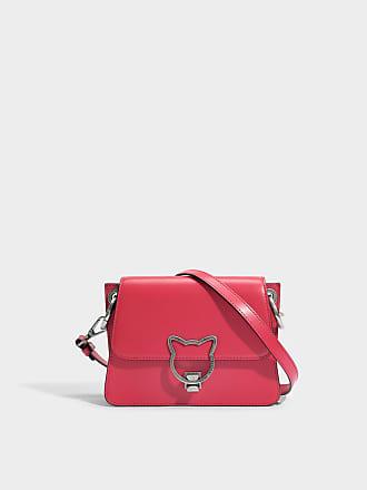 Kat Lock Crossbody Tasche aus Ladybird glattem Kalbsleder Karl Lagerfeld ExLUX