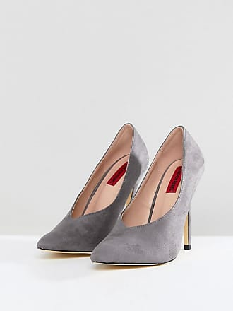 Holly - Zapatos Mujer, Gris (Grey), 3 UK 36 EU London Rebel