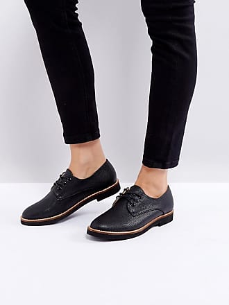 Laced-Up, Brogues Femme, Noir (Black), 40 EUL'autre Chose