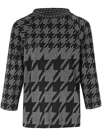 Rundhals-Shirt 3/4 Arm Looxent schwarz Looxent
