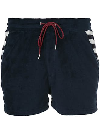 Shorts mit Querstreifen - Blau Loveless