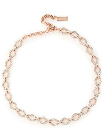 Luv AJ Luv Aj Woman Eclipse Rose Gold-tone Crystal Choker Rose Gold Size GzRRQv