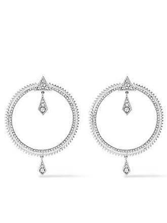 Luv AJ Luv Aj Woman Silver-tone Crystal Earrings Silver Size gHJDpoXB1q
