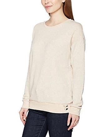 Maison Damen Sweatshirt Solid Sweat in Burn Out Quality Scotch & Soda