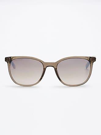 Top Modische Sonnenbrille mit Matallapplikation, in trendigem Dunkelblau mit hellblauem Bügel
