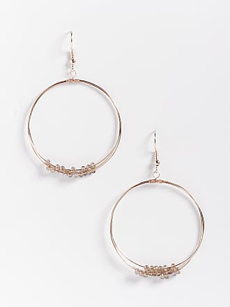 Maurices Double Hoop Beaded Earrings UKFh8Ext