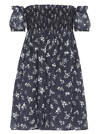 Dress for Women, Evening Cocktail Party On Sale, celeste, Cotton, 2017, 10 12 Miu Miu