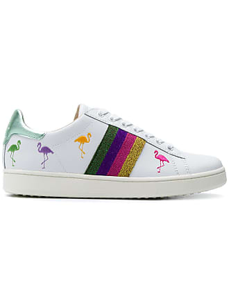 Sneakers for Women On Sale, Disney By Moa, White, Leather, 2017, 3.5 4.5 5.5 7.5 MOA Master Of Arts