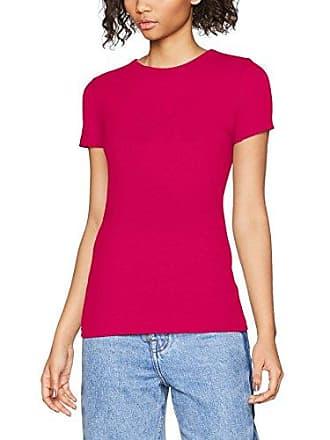 Damen Short Sleeve T-Shirt with Love Embossing Print Love Moschino