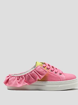 Sneakers for Women On Sale in Outlet, Pink, Leather, 2017, 3.5 4.5 5.5 Msgm