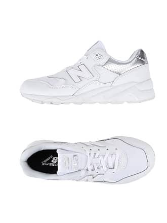 Nouvel Équilibre 580 Pack Argent Blanc Bas-tops Et Chaussures De Sport PEi1rP1