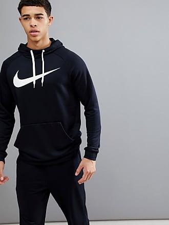 Sudadera con capucha y logo en gris oscuro Dry 885818-071 de Nike Training Nike 7gnCK