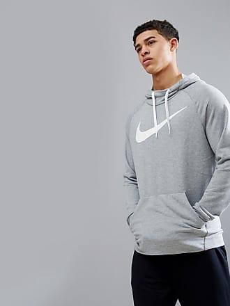 Sudadera con capucha y logo en gris oscuro Dry 885818-071 de Nike Training Nike nWFT0