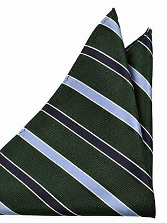Handkerchief - Glossy green base with broad stripes in black and white - Notch LEGOLAS Notch f6uK3kG