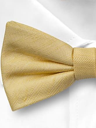 Pre tied bow tie - Yellow Plaid - Notch GEORGIOS Notch WAzgymPlM