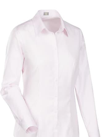 Slim Fit Bluse rosa, Einfarbig Jacques Britt