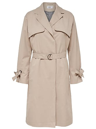 Langer Trenchcoat beige Only