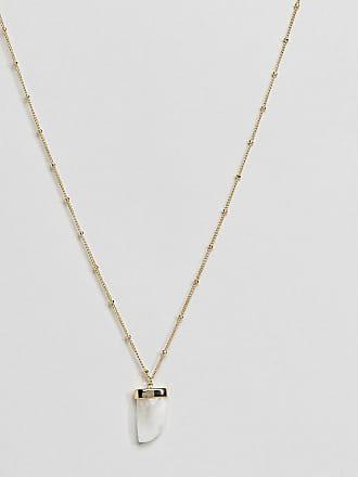 Orelia Long Heart Chakra necklace GWzvuFG