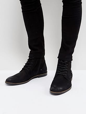 Desert boots en daim - Marron - NoirPier One YytxARza
