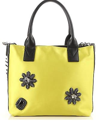Tote Bag On Sale, Yellow, satin, 2017, one size Pinko