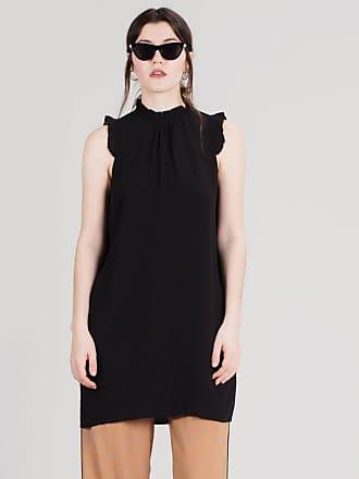 Ruffles Kleid black Pop Cph