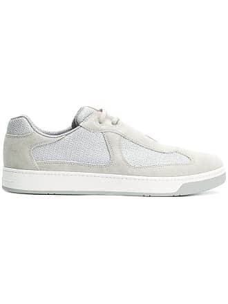Hemp sneakers with logo insert Prada Q2qIIFrm