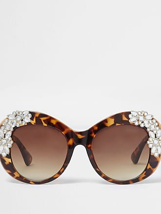 Phillip Lim 3.1 Damen Shelly Rechteckig Sonnenbrille, Matt Dark Tortoise