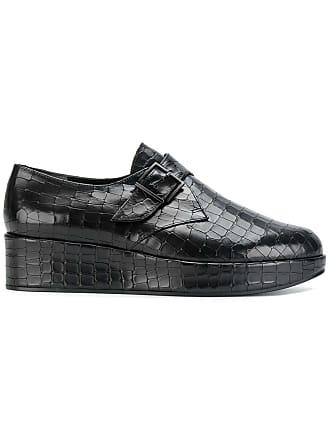 Clergerie Chaussures Moine Plateforme - Noir TbQcK