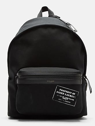 Backpack for Women On Sale, Black, Cotton, 2017, one size Saint Laurent