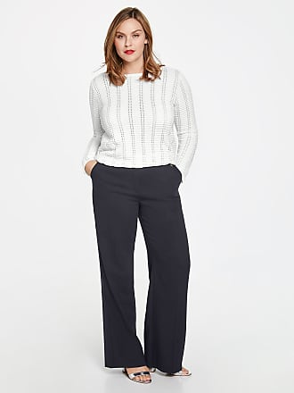Marlene trousers, Carlotta blue female Samoon