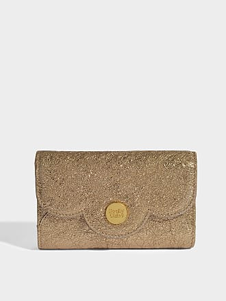 See by Chloé Wallet on Chain Polina en Cuir de Veau Noir Xx5j714B78