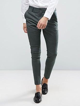 Super Skinny Pantalon De Costume De Mariage - Noyer Sélectionné 6YvINFU
