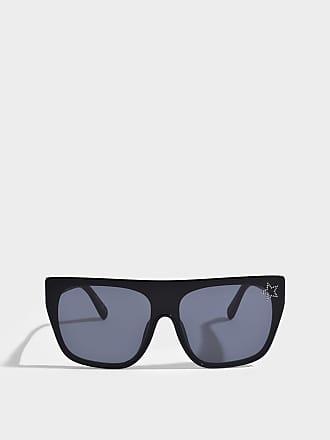 Stella McCartney Bio-injected Sonnenbrille aus schwarzem Bio-Acetat EC5t7e